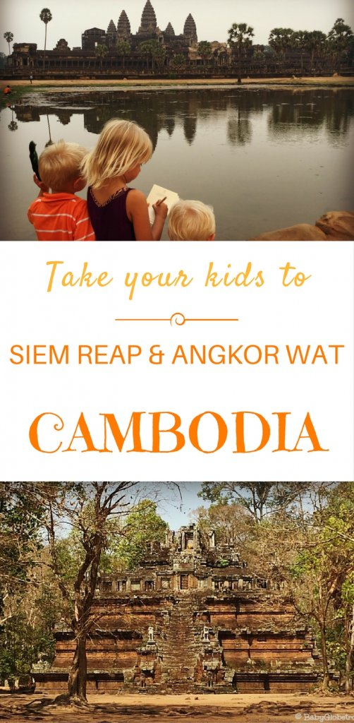 Exploring Siem Reap & the Angkor temples with kids