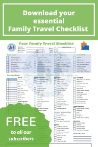 Download Your Free Family Travel Checklist by Subscribing to OurGlobetrotters.Net
