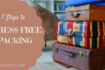 7 steps to stress free pcking - International travel with kids | Our Globetrotters Family Travel Blog