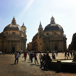 Piazza del Popolo | Practical Advice for Visiting Rome with a Baby | OurGlobetrotters.Net