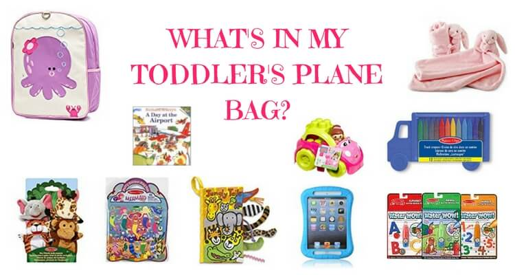 What's in my toddler's plane bag?