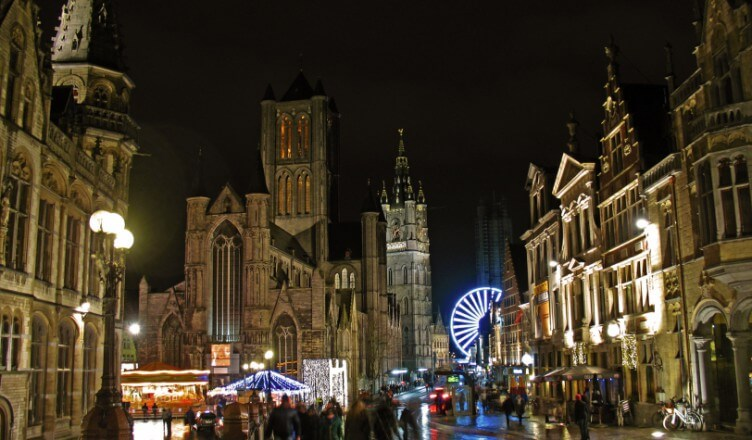 Ghent Skyline | Ghent with Kids | OurGlobetrotters.Net