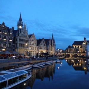 Graslei | Ghent with Kids | OurGlobetrotters.Net