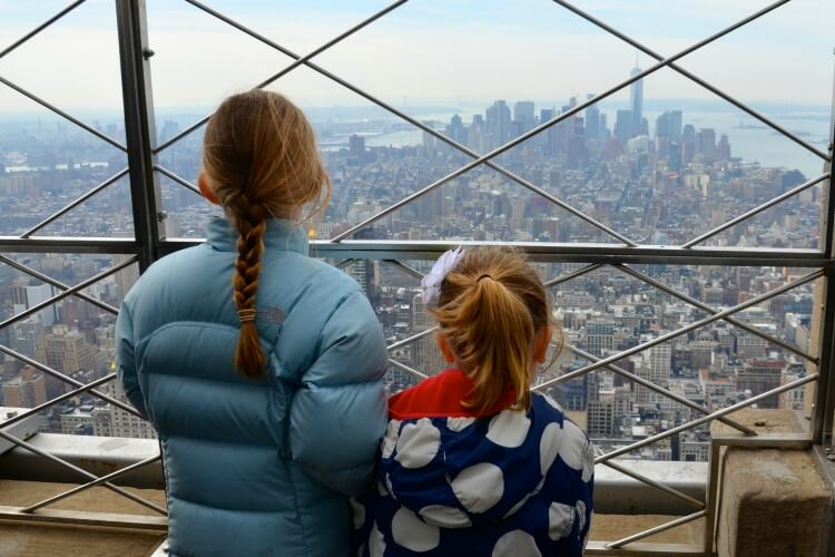 Views from the Empire State Building | Manhattan with Kids | Explore my City | OurGlobetrotters.Net