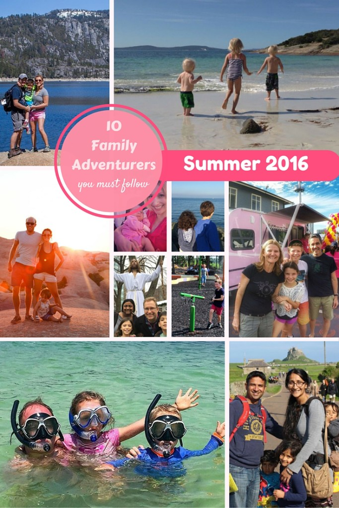 10 Families to follow in Summer 2016 showing that you can travel with your kids - and enjoy it! | OurGlobetrotters.Net
