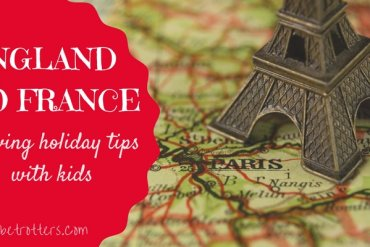 Driving England to France with Kids