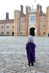 London with young Kids | Hampton Court Palace