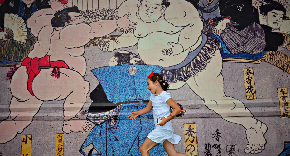ryogoku-running-1500 Tokyo | Best citites for family travel | OurGlobetrotters.Net
