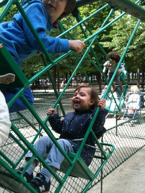 Swing at Luxemburg Garden | Explore My City - Paris | OurGlobetrotters
