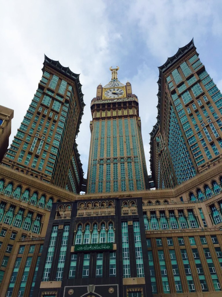 The Clock Tower in Makkah
