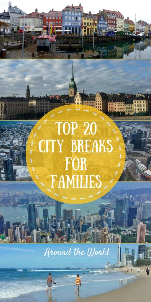 Top 20 City Breaks with Kids