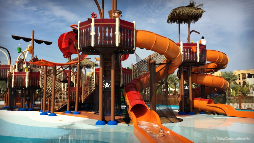 Best Beach Resorts in the UAE | Doubletree by Hilton Marjan Island Ras Al Khaimah | Pirate Boat Slides