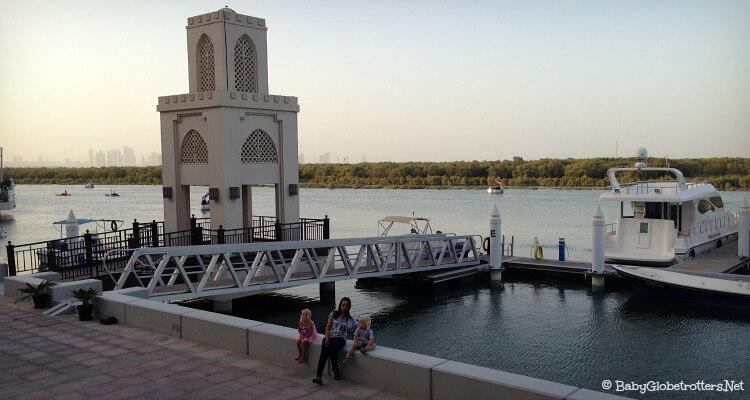 Eastern Mangroves Marina Abu Dhabi