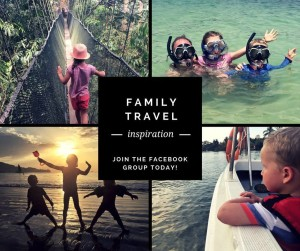 Family Travel Inspiration Facebook Group for parents who love travel - with and without the kids!