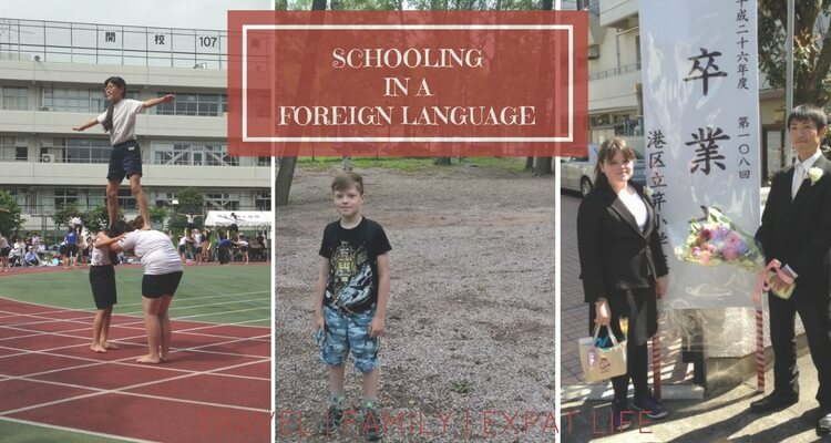 Schooling in a foreign language