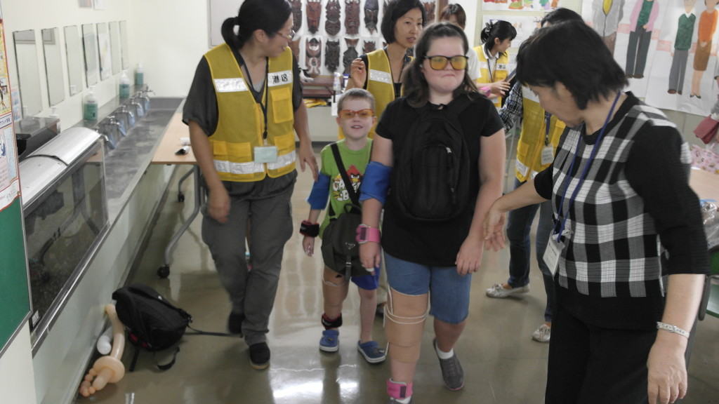 School safety day in Tokyo