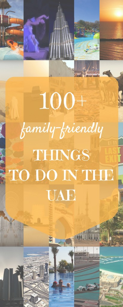 100+ ideas on where to take your family in the UAE | OurGlobetrotters.Net