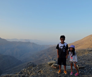 Best places for families to visit in teh UAE Jebel al Jais ~ BayGlobetrotters.Net