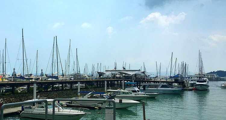 Ao Po Grand Marina for boat transfers direct to Phi Phi Village Beach Resort from Phuket