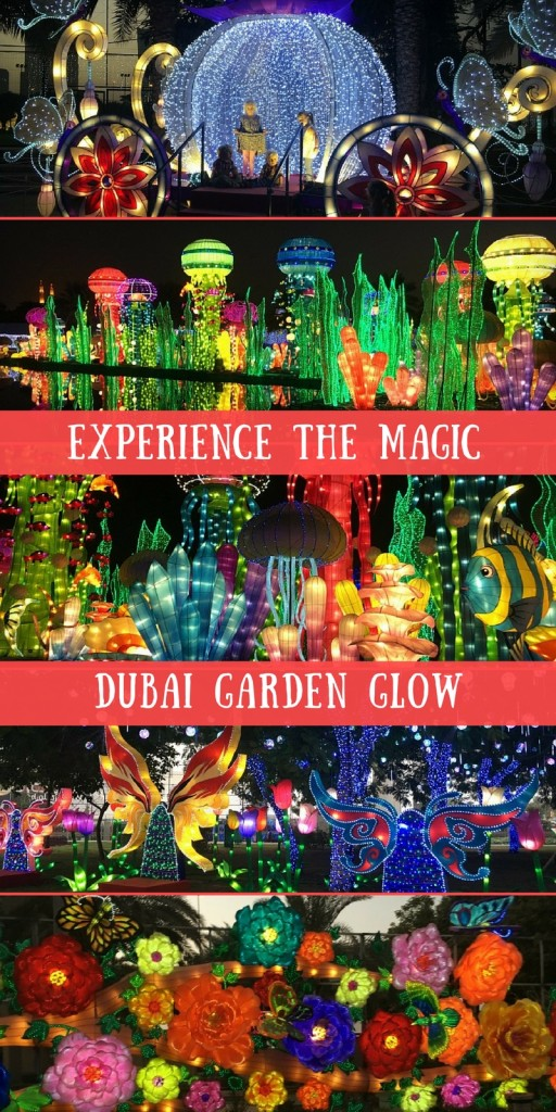 Dubai Garden Glow & Dinosaur park - Family Review