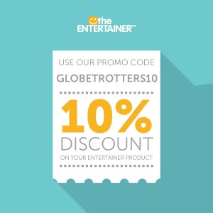 Globetrotters 10% Discount Entertainer Products