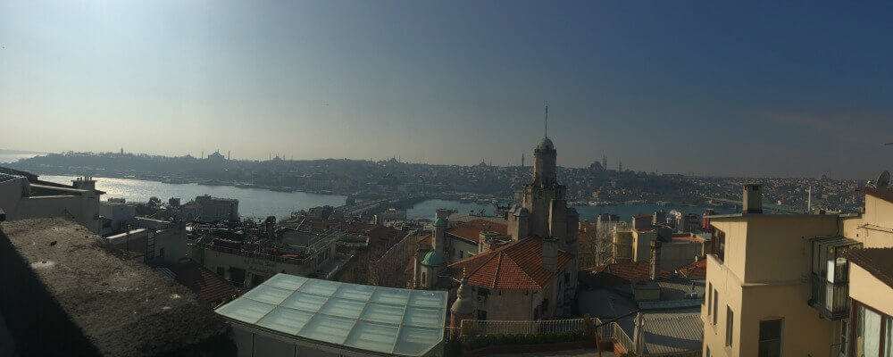 View from Galata to the the Old City