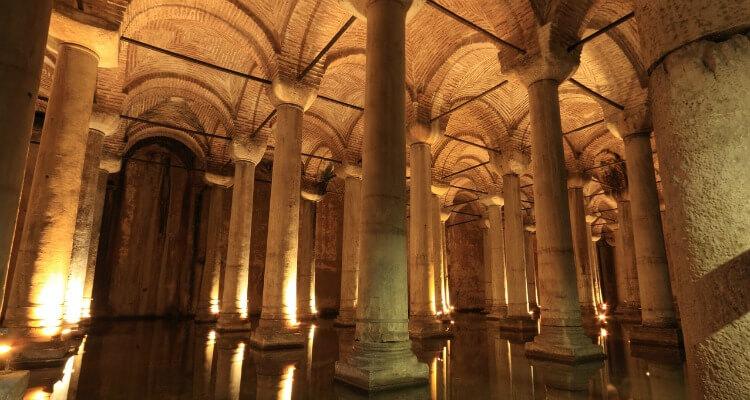 Basilica Cistern - explore under