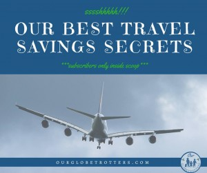 How to save on your family travel using the Globetrotters inside scoop
