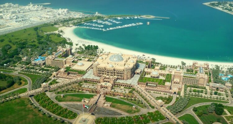Best places to stay in Abu Dhabi