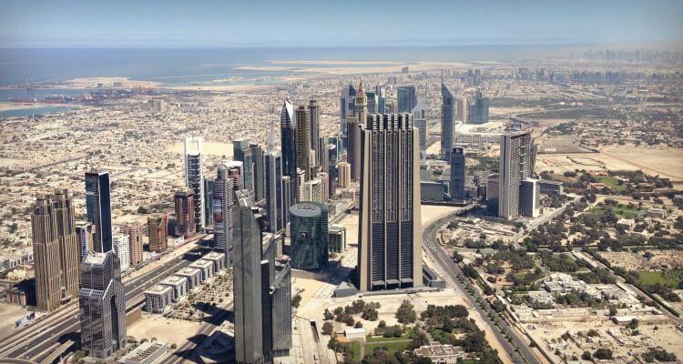 Dubai City skyline modern UAE culture