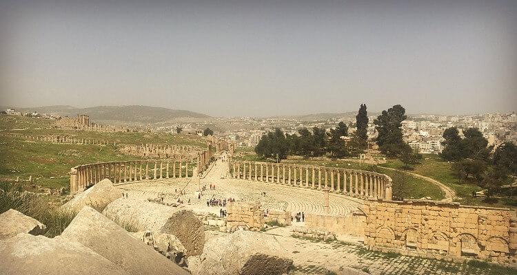 Jerash - Jordan Road Trip