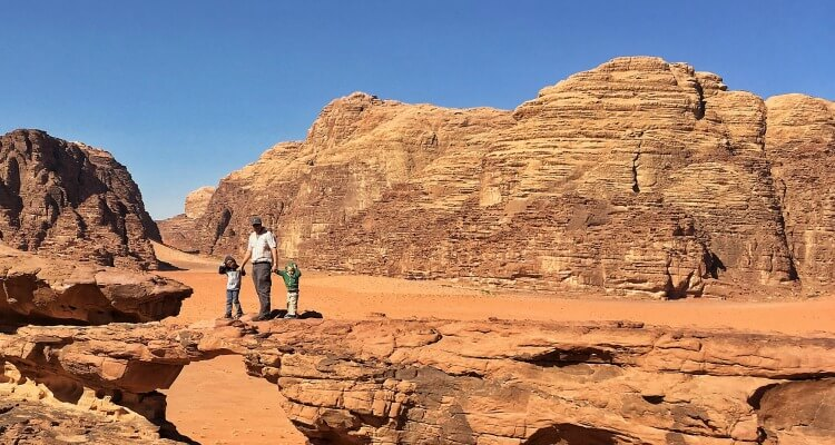 Jordan Road Trip with kids - Wadi Rum
