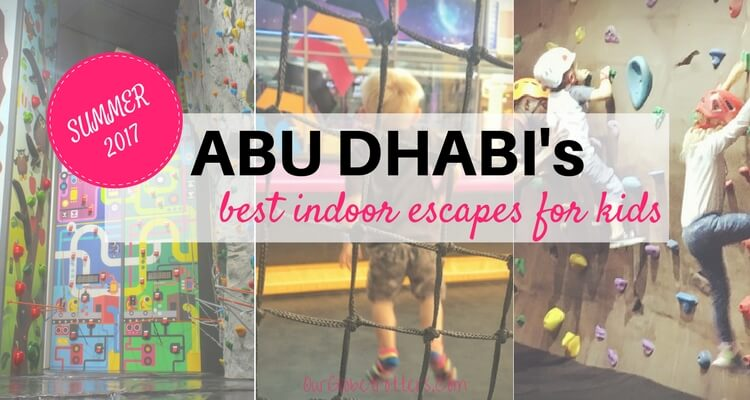 Abu Dhabi's best ideas for summer activities indoors