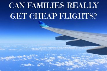 Can families really save money flying?