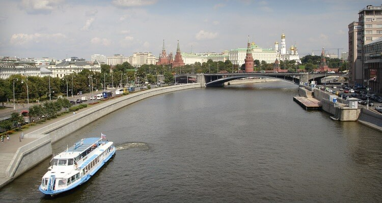 Cruise on the Moscow River; Exploring Moscow with Kids