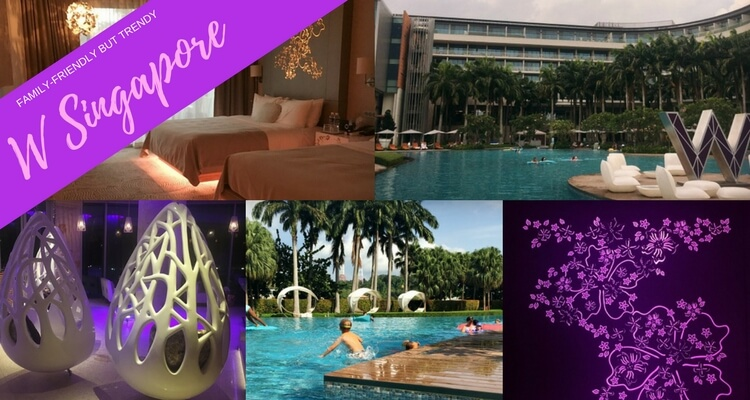 Trendy and family friendly retreat to W Singapore Sentosa Cove