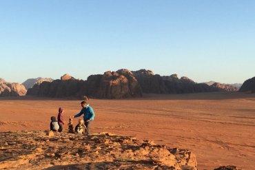 Wadi Rum Desert camping experience with kids
