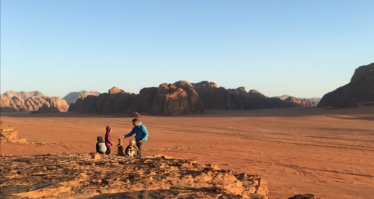 Wadi Rum Camping with Kids