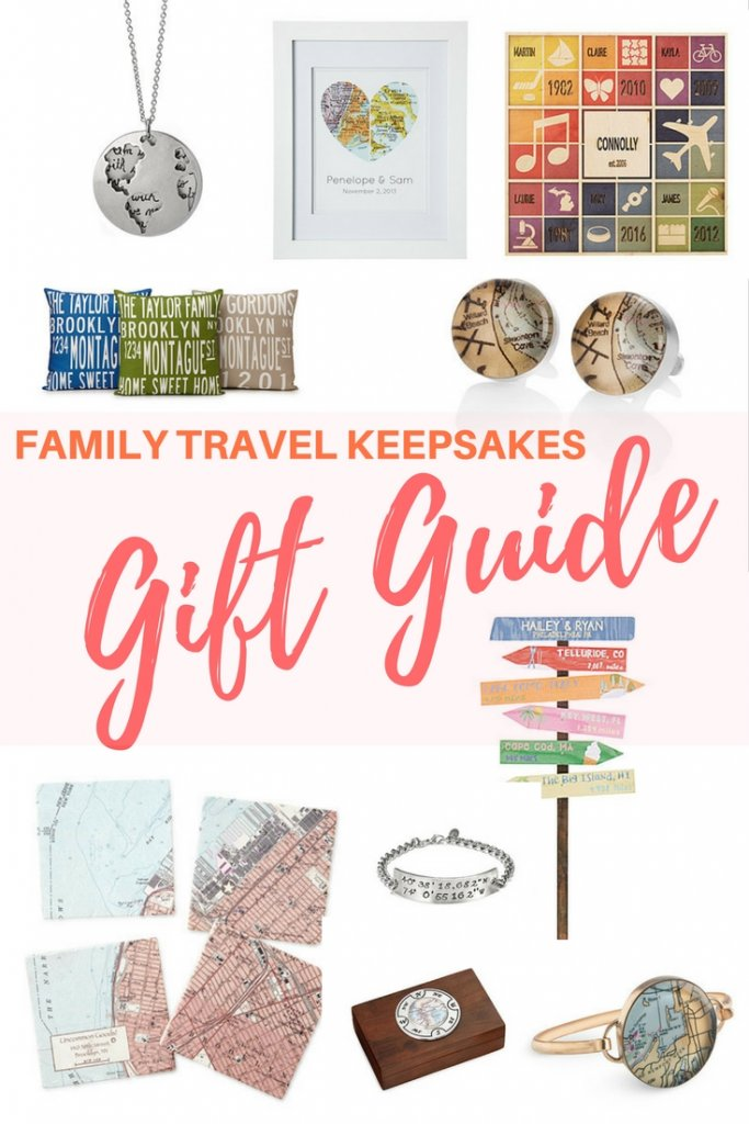 Travel-inspired gifts for you and the family to cherish the memories