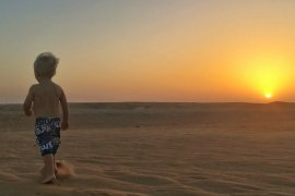 UAE desert camping with the family | UAE vacation ideas