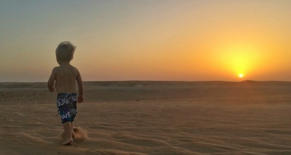 UAE desert camping with the family   UAE vacation ideas