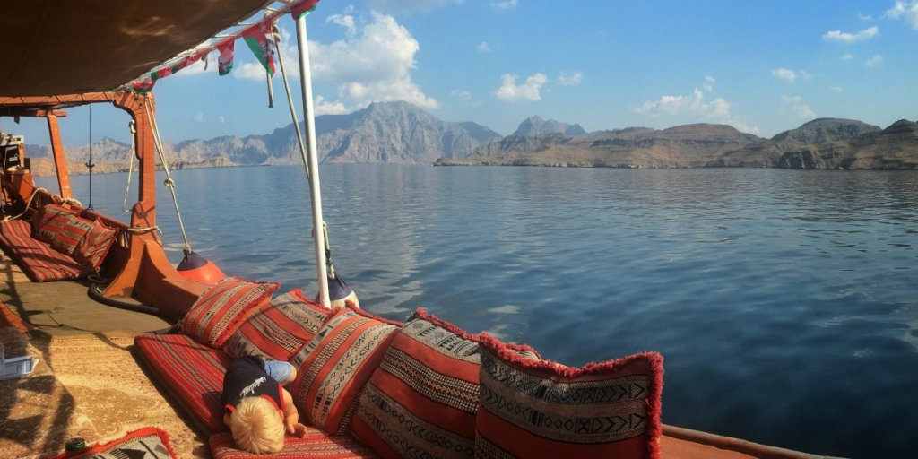Discover the beautiful Musandam Peninsular, Oman