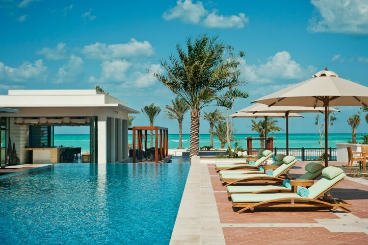 UAE Best Beach Resorts St Regis Saadiyat island