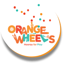 Orange Wheels in Al Wadha Mall - Globetrotters Giveaway partnership