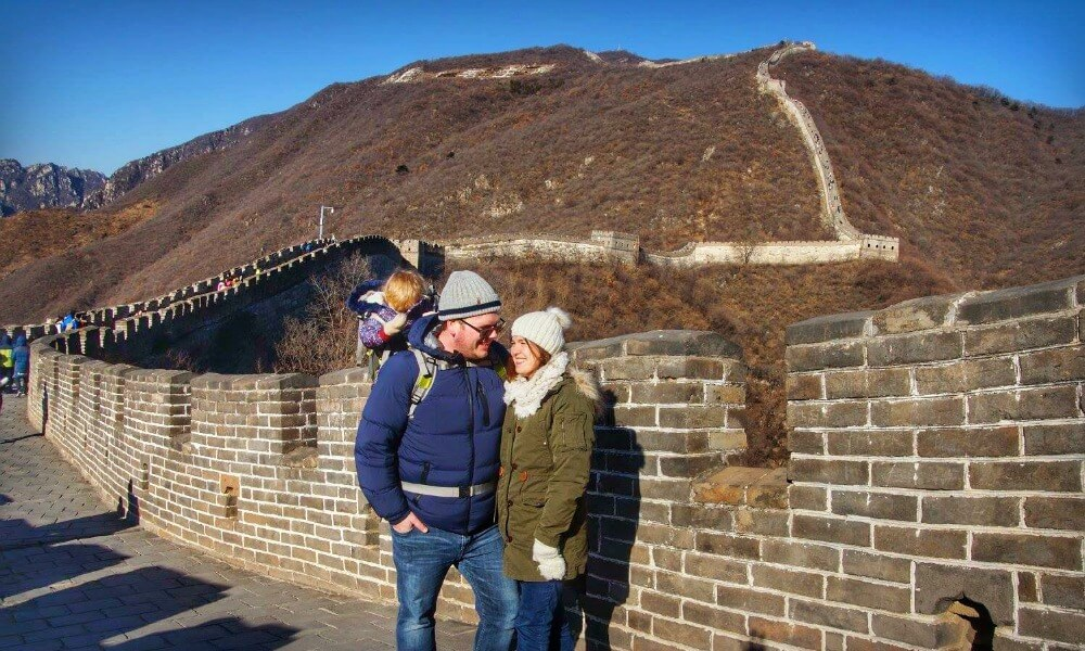 Visit the Great Wall of China with Kids | Seven Modern Wonders of the World | Our Globetrotters Adventurous Family Travel