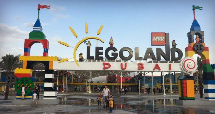 Legoland Dubai entrance | Our Globetrotters Dubai Theme Park Reviews