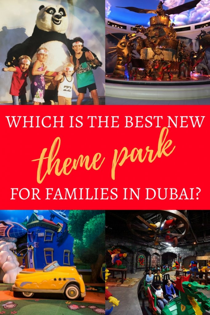 A guide to Dubai's Theme Parks | Highlights of what families should expect visiiting Legoland Dubai, Motiongate Dubai & IMG Wolds of Adventure | Our Globetrotters adventure family travel blog